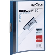 DBL 220307 Durable Duraclip Report Covers DBL220307