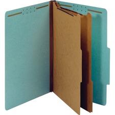 PFX 29030R Pendaflex 2-divider Recycled Classifictn Folders PFX29030R