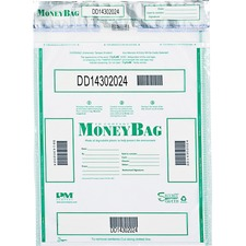 PMC 58050 PM Company Tamper-evident Deposit Bags PMC58050