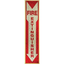 MLE 151833 Miller's Creek Luminous Fire Extinguisher Sign MLE151833