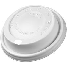 DCC 8EL Dart 8 oz. Foam Cup Lids DCC8EL