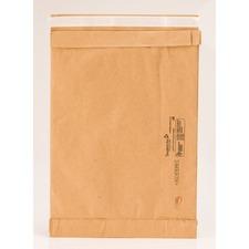 "Jiffy Mailer Self-Seal Padded Mailer - Padded - #0 - 6"" Width x 10"" Length - Peel & Seal - Kraft - 1 Each - Satin Gold"