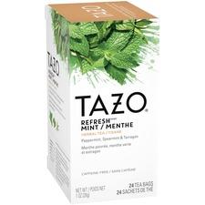 Tazo Refresh Tea - Herbal Tea - Refresh, Mint, Tarragon - 24 Filterbag - 24 / Box