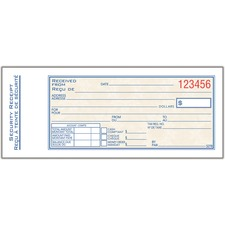 Adams ADCS27B Receipt Book