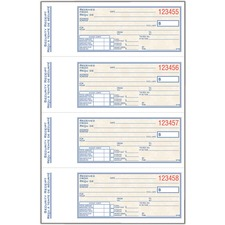 Adams ADCS71B Receipt Book