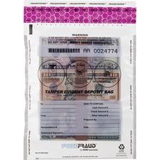 MMF 236210320 MMF Industries Clear FeezeFraud Deposit Bags MMF236210320