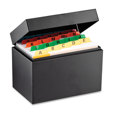 MMF 263644BLA MMF Industries Heavy-duty Steel Card File Box MMF263644BLA