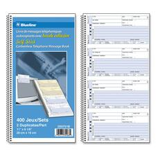 Blueline D50751B Message Book