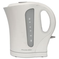 Proctor Silex Electric Kettle - 1.70 L - White