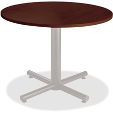 Heartwood Innovations Precision Engineered Round Tabletop - Material: Particleboard - Finish: Evening Zen, Laminate