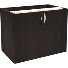 "Heartwood Innovations Double Door Cabinet - 35.5"" x 21.8"" x 28"" x 1"" - Drawer(s)2 Door(s) - Material: Particleboard - Finish: Evening Zen, Laminate"