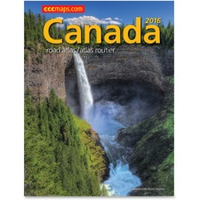 CCC Canada Road Atlas Travel Printed Manual - 70 Pages