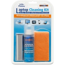 Empack Cleaning Kit - For Display Screen, Notebook, PDA, GPS Navigation System, Gaming Console, Mobile Phone, Keyboard - Non-drip, Anti-static, Ammonia-free, Alcohol-free, Streak-free - 1 Each