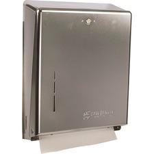 SJM T1900XC San Jamar C-fold / Multifold Paper Towel Dispenser SJMT1900XC