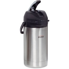 BUN 321300000 Bunn-O-Matic 3.0L Stainless Steel Airpot BUN321300000