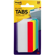 MMM 686ALYR3IN 3M Post-it Durable Filing Tabs MMM686ALYR3IN