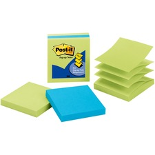 MMM 33013AULE 3M Post-it Pop-up 3x3 Note Pads MMM33013AULE