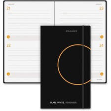 AAG80612105 - At-A-Glance Two Days Per Page Planning Notebook