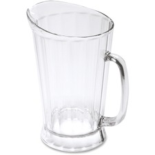 Rubbermaid 3334 Bouncer II Pitcher - 1.80 L Pitcher - Polycarbonate - Dishwasher Safe - 1 Piece(s) Each