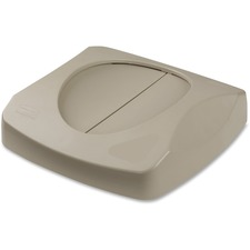 RCP 268988BG Rubbermaid Comm. Untouchable Swing Top Lid RCP268988BG