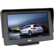 "Boyo VTM4301 4.3"" Active Matrix TFT LCD Car Display"