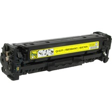 V7 Yellow Toner Cartridge for HP Color LaserJet CM2320 MFP, CM2320fxi, CM2320n, CM2320nf, CP2025, CP2025dn, CP2025n, CP2025x CC532A 2.8K YLD