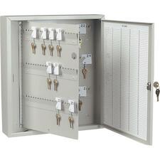 "Steelmaster 201KCP60PL Extra Key Tag Panel - 3.4"" Length x 16.6"" Width x 11.7"" Height - Platinum"