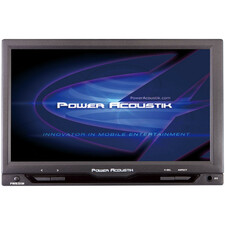 "Power Acoustik PT-712IRA 7"" Active Matrix TFT LCD Car Display - Black"