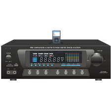 PyleHome PT270AIU AM/FM Receiver - 300 W RMS - 2 Channel - Black