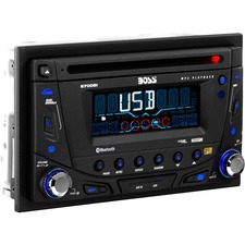 BOSS AUDIO 870DBI Double-DIN CD/MP3 Player, Receiver, Bluetooth, Detachable Front Panel, Wireless Remote