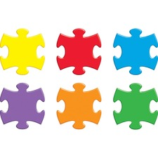 TEP T10906 Trend Accents Interlocking Puzzle TEPT10906