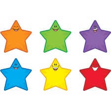TEPT10907 - Trend Smiling Stars Accents