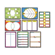 CDP 110161 Carson Graphics Bulletin Board Set CDP110161