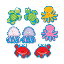 CDP 120075 Carson Sea Life Cut-outs Bulletin Board Set CDP120075