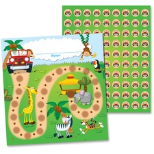 CDP 148004 Carson Jungle Safari Mini Incentive Chart CDP148004