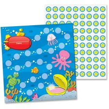 CDP 148012 Carson Sea Life Design Mini Incentive Chart CDP148012