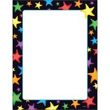 TEP T11413 Trend Gel Stars Border Paper TEPT11413