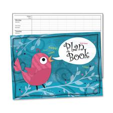 CDP 104531 Carson Trendy Comprehensive Wirebound Plan Book CDP104531