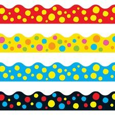 TEP T92912 Trend Lotsa Spots Terrific Board Trimmers  TEPT92912