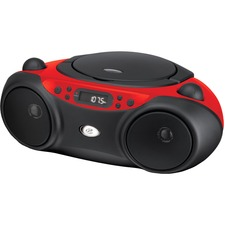 GPX Sporty CD and Radio Boombox - Red  / Mfr. No.: Bc232r