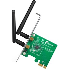 TP-LINK TL-WN881ND Wireless N300 PCI Express Adapter, 2.4GHz 300Mbps, Include Low-profile Bracket