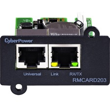 CyberPower RMCARD203 Remote Management Card - SNMP/HTTP/NMS and ENVIROSENSOR Port