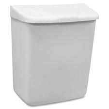 HOS 250201W Hospeco Feminine Hygiene Waste Receptacle  HOS250201W