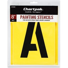 Chartpak Painting Gothic Letter Stencils