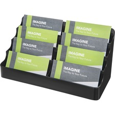 DEF 90804 Deflecto 4-Tier Business Card Holder DEF90804