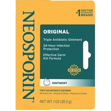 JOJ 23737 J & J Neosporin First Aid Antibiotic Ointment JOJ23737