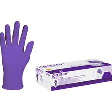 KCC55084 - Kimberly-Clark Purple Nitrile Exam Gloves