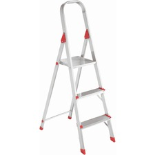 DAD L234603 Louisville Ladders 3' Alum Platform Step Ladder DADL234603