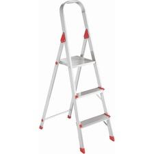 DAD L234603 Louisville Ladders 3' Alum Platform Step Ladder DADL234603