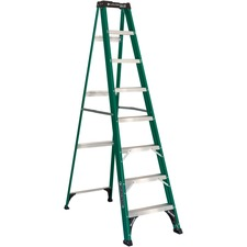 DAD FS4008 Louisville Ladders Fiberglass Standard Step Ladder DADFS4008